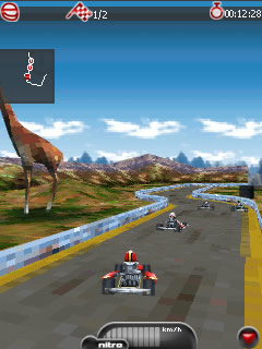 Kart Mania 3D With Bluetooth S60v3